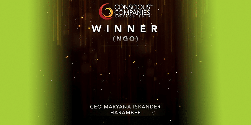 Harambee wins the 2019 Conscious Companies Award