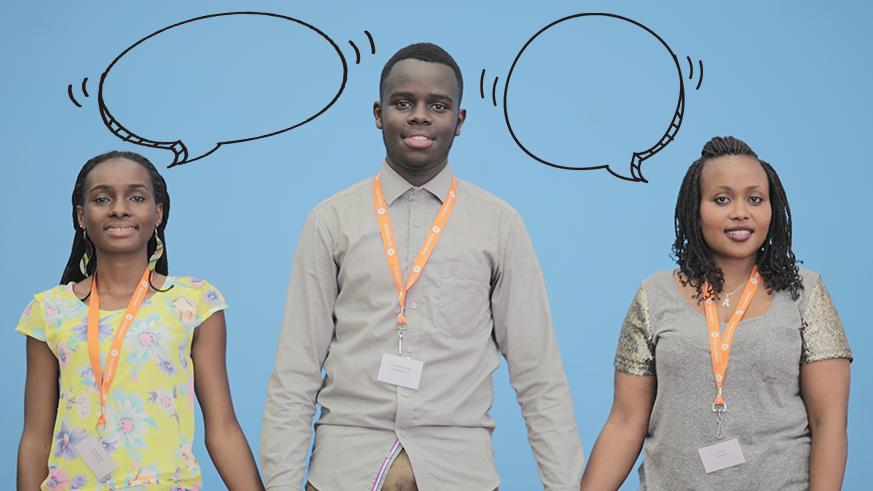 Lift up young people's voices: Tuzatsinda